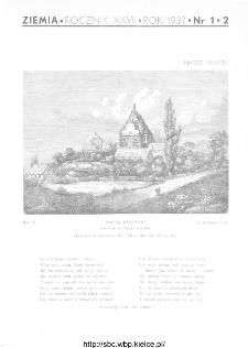 Ziemia : ilustrowany miesięcznik krajoznawczy 1937, R.XXVII, nr 1-2
