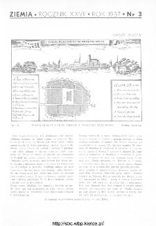 Ziemia : ilustrowany miesięcznik krajoznawczy 1937, R.XXVII, nr 3
