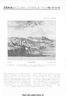 Ziemia : ilustrowany miesięcznik krajoznawczy 1937, R.XXVII, nr 4-5-6