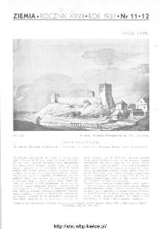 Ziemia : ilustrowany miesięcznik krajoznawczy 1937, R.XXVII, nr 11-12