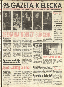 Gazeta Kielecka, 1991, R.3, nr 81