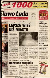 Słowo Ludu 2001 R.LII, nr 117