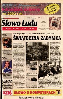 Słowo Ludu 2001 R.LII, nr 300