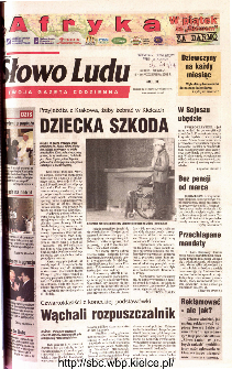 Słowo Ludu 2003 R.LIV, nr 243