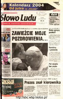 Słowo Ludu 2003 R.LIV, nr 269