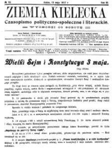 Ziemia Kielecka. Czasopismo polityczno-społeczne i literackie 1915, R.1, nr 4
