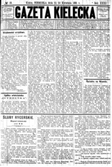 Gazeta Kielecka, 1901, R.32, nr 99
