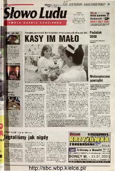 Słowo Ludu 2001 R.LII, nr 7 (Kielce region)