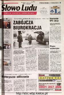 Słowo Ludu 2001 R.LII, nr 8 (Kielce region)
