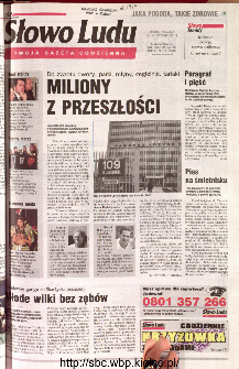 Słowo Ludu 2001 R.LII, nr 11 (Kielce region)