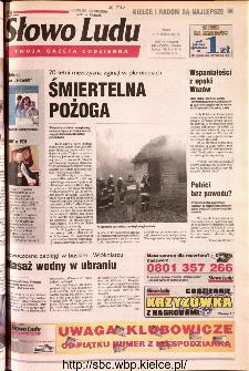 Słowo Ludu 2001 R.LII, nr 14 (Kielce region)