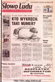 Słowo Ludu 2001 R.LII, nr 20 (Kielce region)
