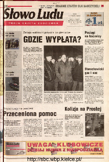 Słowo Ludu 2001 R.LII, nr 26 (Kielce region)