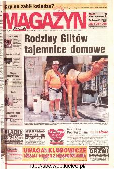 Słowo Ludu 2001 R.LII, nr 28 magazyn (Kielce region)