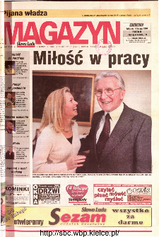 Słowo Ludu 2001 R.LII, nr 34 magazyn (Kielce region)