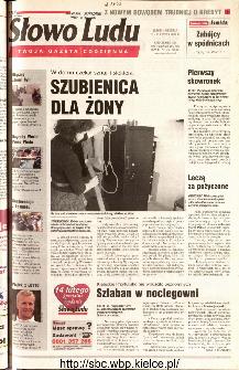 Słowo Ludu 2001 R.LII, nr 35 (Kielce region)