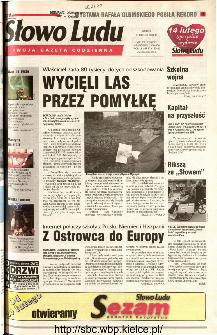 Słowo Ludu 2001 R.LII, nr 37 (Kielce region)