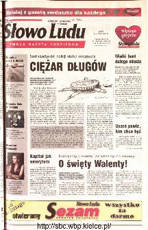 Słowo Ludu 2001 R.LII, nr 38 (Kielce region)