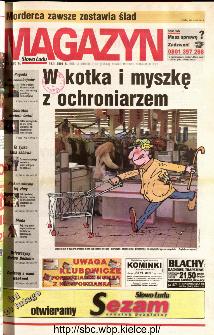 Słowo Ludu 2001 R.LII, nr 40 magazyn (Kielce region)
