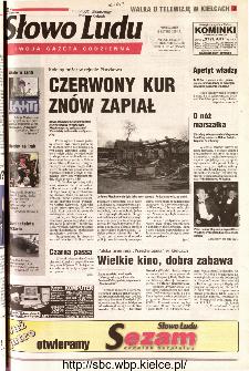 Słowo Ludu 2001 R.LII, nr 42 (Kielce region)
