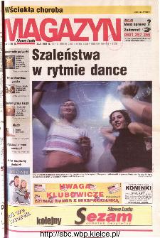 Słowo Ludu 2001 R.LII, nr 46 magazyn (Kielce region)