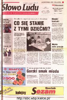 Słowo Ludu 2001 R.LII, nr 56 (Kielce region)