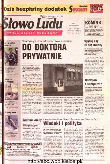 Słowo Ludu 2001 R.LII, nr 61 (Kielce region)
