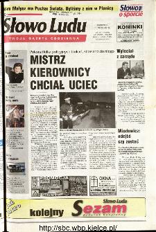 Słowo Ludu 2001 R.LII, nr 66 (Kielce region)