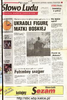 Słowo Ludu 2001 R.LII, nr 71 (Kielce region)