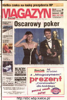 Słowo Ludu 2001 R.LII, nr 76 magazyn (Kielce region)