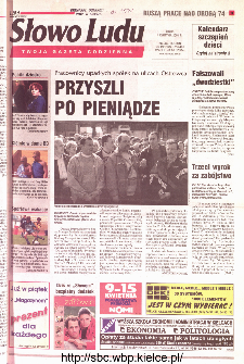 Słowo Ludu 2001 R.LII, nr 80 (Kielce region)