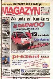 Słowo Ludu 2001 R.LII, nr 82 magazyn (Kielce region)