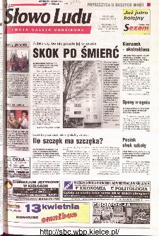 Słowo Ludu 2001 R.LII, nr 84 (Kielce region)