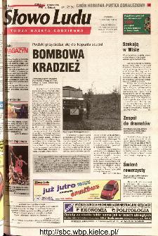 Słowo Ludu 2001 R.LII, nr 87 (Kielce region)