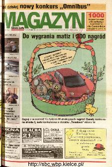 Słowo Ludu 2001 R.LII, nr 88 magazyn (Kielce region)