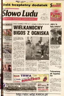 Słowo Ludu 2001 R.LII, nr 89 (Kielce region)
