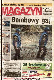 Słowo Ludu 2001 R.LII, nr 92 magazyn (Kielce region)