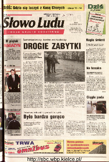 Słowo Ludu 2001 R.LII, nr 96 (Kielce region)