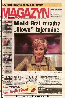 Słowo Ludu 2001 R.LII, nr 98 magazyn (Kielce region)