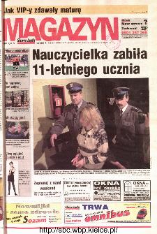 Słowo Ludu 2001 R.LII, nr 102 magazyn (Kielce region)