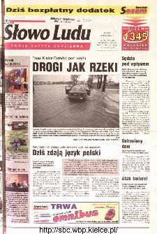 Słowo Ludu 2001 R.LII, nr 105 (Kielce region)