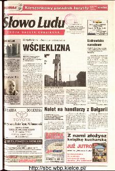Słowo Ludu 2001 R.LII, nr 130 (Ponidzie, Jędrzejów, Włoszczowa,Sandomierz, Staszów, Opatów)