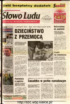 Słowo Ludu 2001 R.LII, nr 135 (Ponidzie, Jędrzejów, Włoszczowa,Sandomierz, Staszów, Opatów)