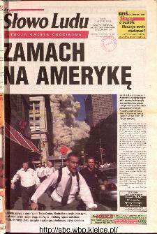 Słowo Ludu 2001 R.LII, nr 212 (Ponidzie, Jędrzejów, Włoszczowa,Sandomierz, Staszów, Opatów)