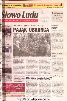 Słowo Ludu 2001 R.LII, nr 217 (Ponidzie, Jędrzejów, Włoszczowa,Sandomierz, Staszów, Opatów)