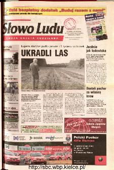 Słowo Ludu 2001 R.LII, nr 230 (Ponidzie, Jędrzejów, Włoszczowa,Sandomierz, Staszów, Opatów)