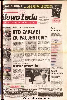 Słowo Ludu 2001 R.LII, nr 231 (Ponidzie, Jędrzejów, Włoszczowa,Sandomierz, Staszów, Opatów)