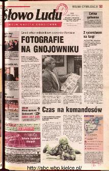 Słowo Ludu 2001 R.LII, nr 236 (Ponidzie, Jędrzejów, Włoszczowa,Sandomierz, Staszów, Opatów)