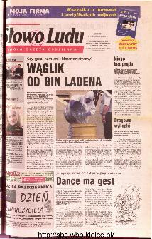 Słowo Ludu 2001 R.LII, nr 237 (Ponidzie, Jędrzejów, Włoszczowa,Sandomierz, Staszów, Opatów)