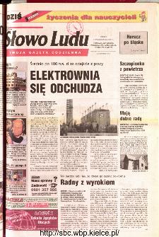 Słowo Ludu 2001 R.LII, nr 241 (Ponidzie, Jędrzejów, Włoszczowa,Sandomierz, Staszów, Opatów)